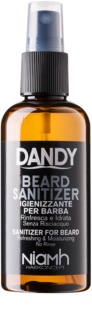 DANDY Beard Sanitizer spray désinfectant sans rinçage qui protège la barbe