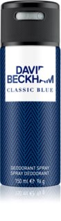 David Beckham Classic Blue deodorante spray per uomo