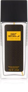 David Beckham Classic Touch deodorant s rozprašovačem pro muže