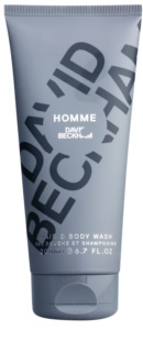 David Beckham Homme τζελ για ντους για άντρες