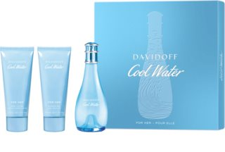 Davidoff Cool Water Woman darilni set XI. za ženske