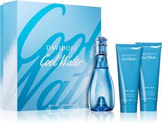Davidoff Cool Water Woman ajándékszett I. hölgyeknek
