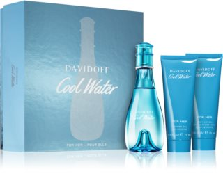 Davidoff Cool Water Woman confezione regalo IV