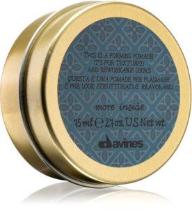 Davines More Inside tvarujúca pomáda na vlasy