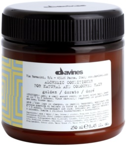 Davines Alchemic Golden hydratačný kondicionér pre zvýraznenie farby vlasov