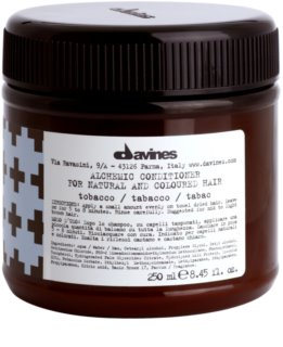 Davines Alchemic Tobacco Moisturizing Conditioner for Hair Color Enhancement