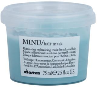 Davines Minu Caper Blossom Restoring Mask For Colored Hair