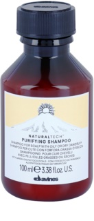Davines Naturaltech Purifying sampon pentru curatare anti matreata