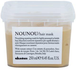 Davines NouNou vyživujúca maska pre poškodené, chemicky ošetrené vlasy