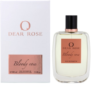 Dear Rose Bloody Rose Eau de Parfum sample for Women