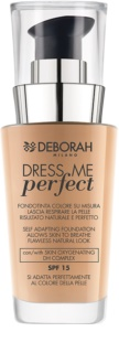 Deborah Milano Dress Me Perfect fondotinta per un look naturale SPF 15