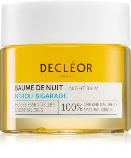 Decléor Néroli Bigarade Baume de Nuit Night Hydration Balm For Intensive Recovery With Essential Oils
