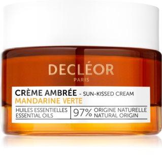 Decléor Mandarine Verte Créme Ambrée tónovací krém na tvár s vyhladzujúcim efektom
