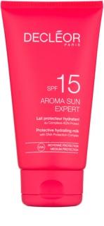 Decléor Aroma Sun Expert leche solar hidratante SPF 15