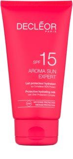 Decléor Aroma Sun Expert увлажняющее молочко для загара SPF 15