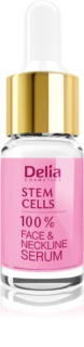 Delia Cosmetics Professional Face Care Stem Cells siero rassodante e antirughe intenso alle cellule staminali per viso, collo e décolleté