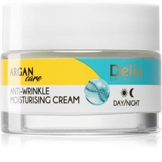 Delia Cosmetics Argan Care дълбоко хидратиращ крем в дълбочина против бръчки