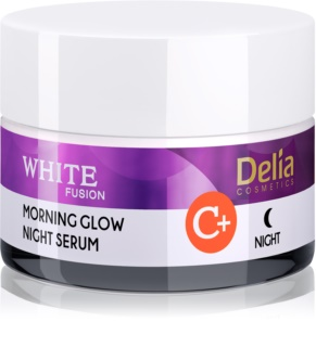 Delia Cosmetics White Fusion C+ Illuminating Night Cream with Anti-Wrinkle Effect