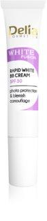 Delia Cosmetics White Fusion C+ rozjasňujúci BB krém proti pigmentovým škvrnám SPF 30