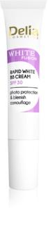 Delia Cosmetics White Fusion C+ aufhellende BB Cream gegen Pigmentflecken SPF 30