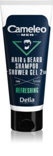 Delia Cosmetics Cameleo Men šampón a sprchový gél na vlasy, bradu a telo