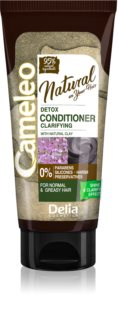 Delia Cosmetics Cameleo Natural condicionador de limpeza desintoxicante
