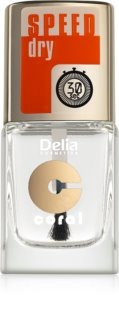 Delia Cosmetics Speed Dry top coat per unghie per accelerare l'asciugatura dello smalto