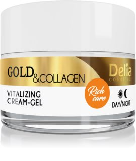 Delia Cosmetics Gold & Collagen Rich Care vitalizující pleťový krém