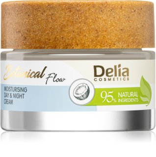 Delia Cosmetics Botanical Flow Coconut Oil Day And Night Cream with Moisturizing Effect