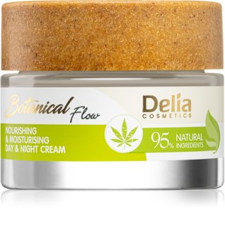 Delia Cosmetics Botanical Flow Hemp Oil Nourishing and Moisturizing Cream