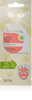 Delia Cosmetics Botanical Flow Hemp Oil Soothing Face Mask for Sensitive and Irritable Skin