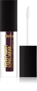 Delia Cosmetics Velvet Matt Long Wear Be Glamour langanhaltender Lippenstift mit mattierendem Effekt