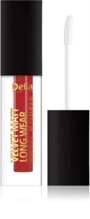 Delia Cosmetics Velvet Matt Long Wear Be Glamour dlouhotrvající rtěnka s matným efektem