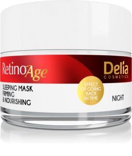 Delia Cosmetics Retino Age vyživující a zpevňující maska na noc