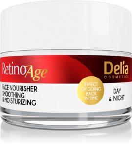 Delia Cosmetics Retino Age Хидратиращ и подхранващ крем