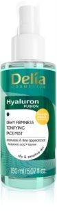 Delia Cosmetics Hyaluron Fusion bruma facial tonificante con efecto reafirmante
