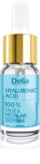 Delia Cosmetics Professional Face Care Hyaluronic Acid sérum anti-rides et combleur de rides à l'acide hyaluronique visage, cou et décolleté