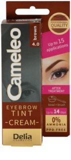 Delia Cosmetics Cameleo tinte cremoso profesional para cejas sin amoníaco