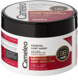 Delia Cosmetics Cameleo BB mascarilla de queratina para cabello teñido y con mechas