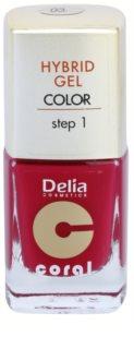 Delia Cosmetics Coral Nail Enamel Hybrid Gel Gel-Nagellack