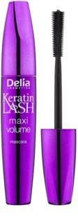 Delia Cosmetics Keratin Lash máscara de pestañas para dar el máximo volumen