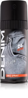 Denim Black Deodorant Spray für Herren
