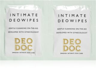 DeoDoc DeoWipes Jasmine Pear Tücher zur Intimhygiene