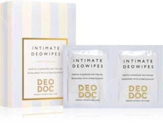 DeoDoc DeoWipes Violet Cotton Tücher zur Intimhygiene