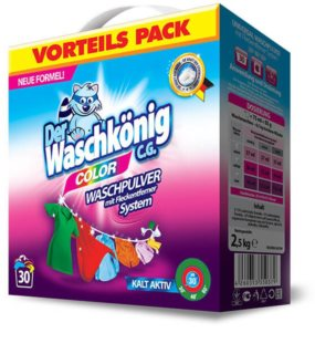 Der Waschkönig Color washing powder