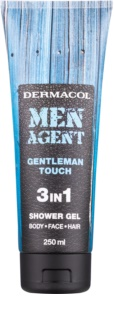Dermacol Men Agent Gentleman Touch gel de douche 3 en 1
