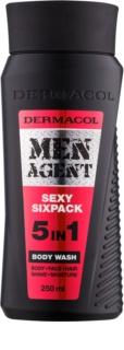 Dermacol Men Agent Sexy Sixpack gel za tuširanje 5 u 1