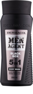 Dermacol Men Agent Black Box gel doccia 5 in 1