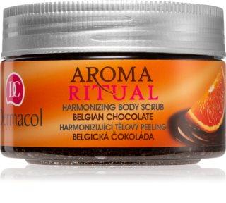 Dermacol Aroma Ritual Belgian Chocolate пилинг для тела