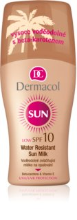 Dermacol Sun Water Resistant lait solaire waterproof SPF 10
